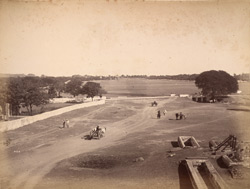 Maidan from the west, Secunderabad.